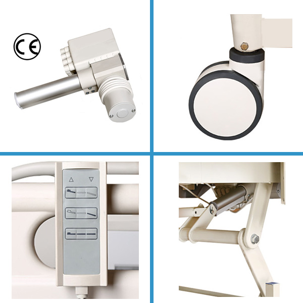 Folding Electric Hospital Bed Accessories