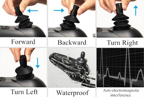 Lightweight Wheelchair joystick