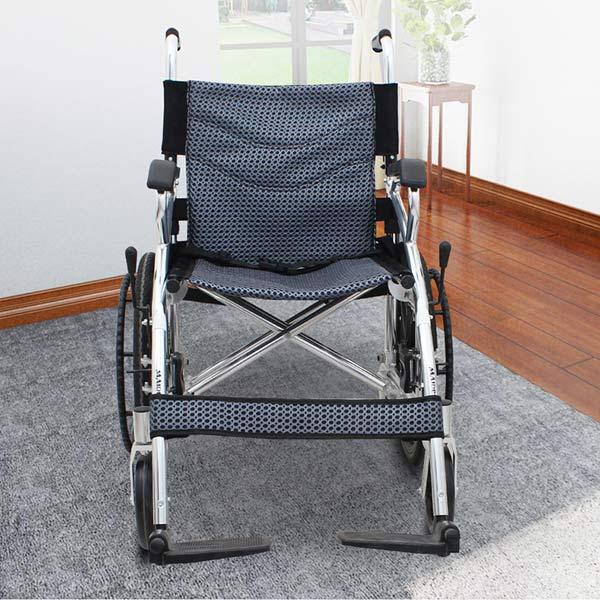 Widened wheelchair