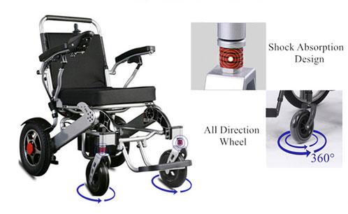 Aluminum Alloy Wheelchair design