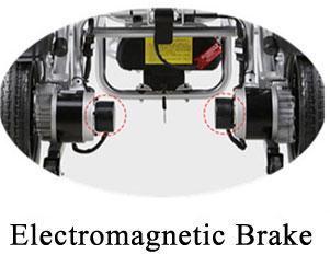 Aluminum Alloy Wheelchair electromagnetic brake