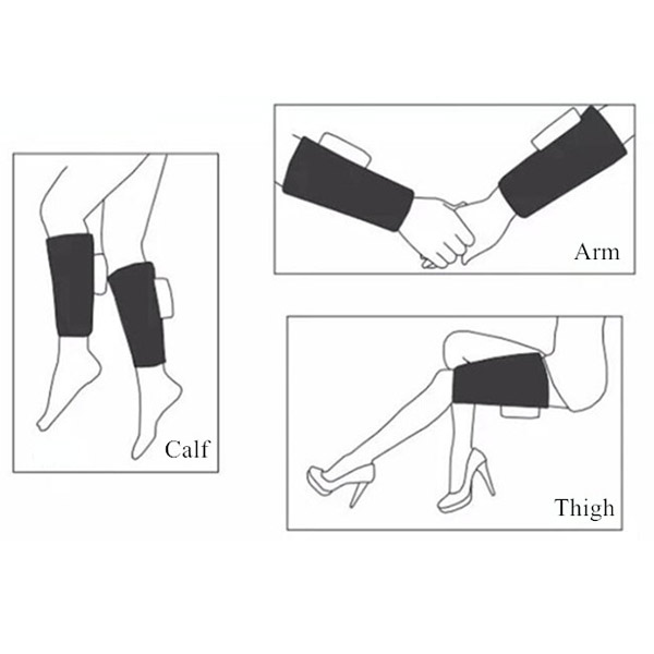 arm thigh leg massage