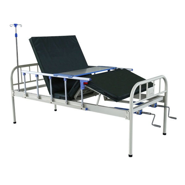 2 Cranks Manual hospital bed
