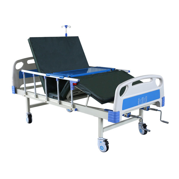 2 Functions Manual Hospital Bed Manufacturer