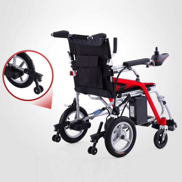 Foldable Lightweight Electric Wheelchair manufacturer