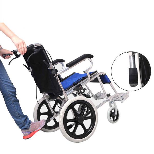 Hospital Home 11kg Lightweight Wheelchair