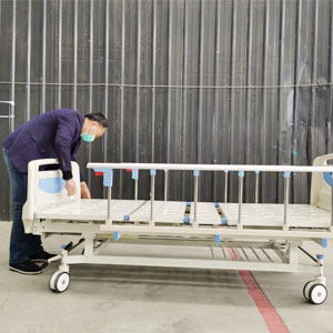 Installation of medical beds