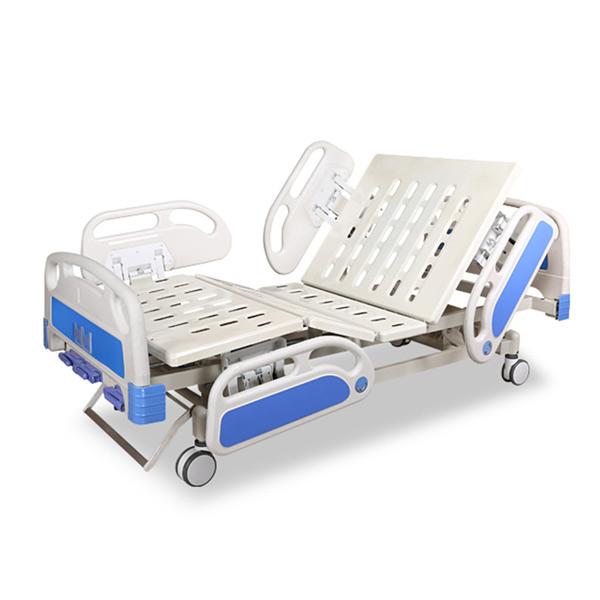Three Cranks Manual Hospital Bed