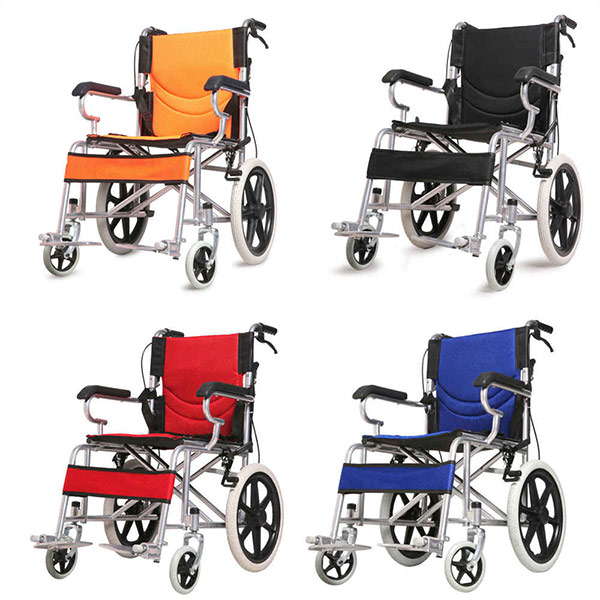 wholesale Adjustable Foldable Manual Wheelchair