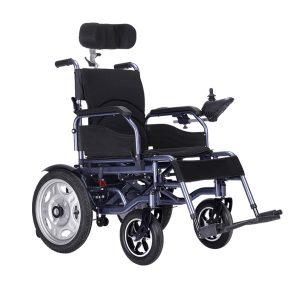 blue electric wheelchair manufacturer