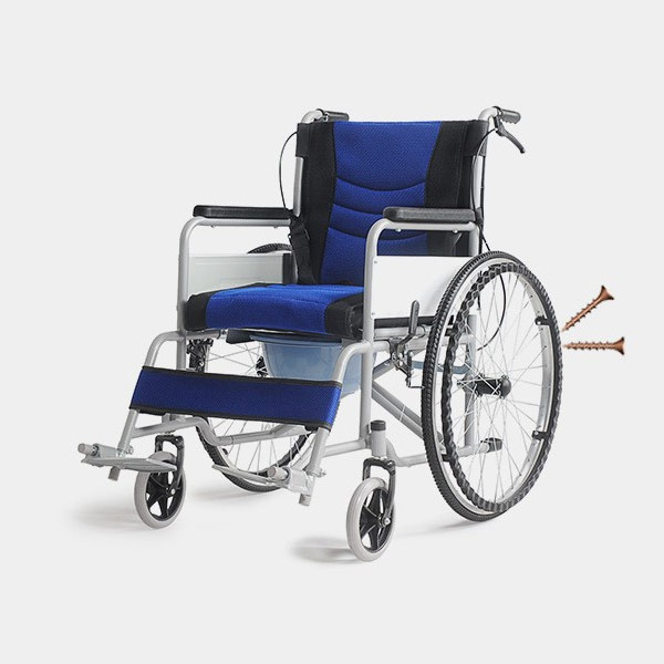 commode wheelchair supplier in china