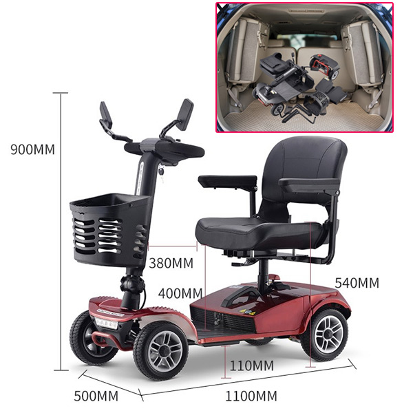 electric scooters for heavy adults
