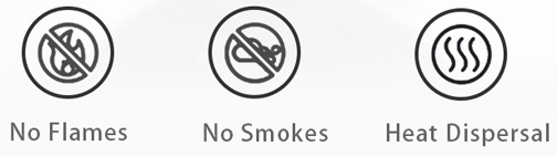 moxibustion box smokeless design
