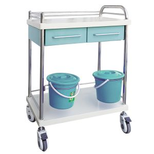 treatment trolley with drawers