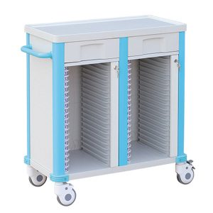 double row medical record trolley manufacturer