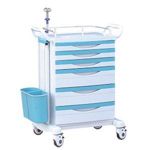 china hospital emergency trolley for sale