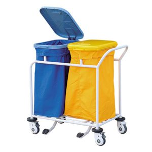 cheap price hospital medical waste trolley carts