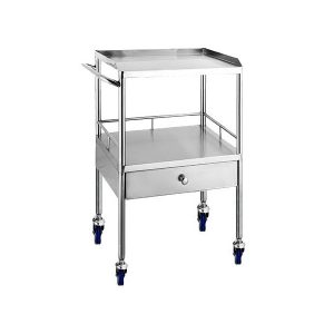 medical stainless steel anesthesia cart manufacturer