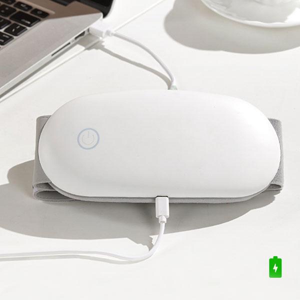 USB rechargeable graphene smart heating massage